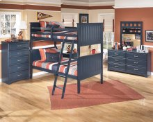Leo - Blue 2 Piece Bedroom Set