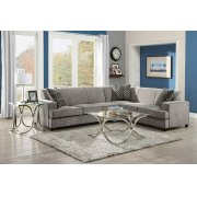 Tess Casual Grey Sectional Product Image