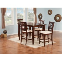 Montego Bay 36x48 Pub Set in Walnut