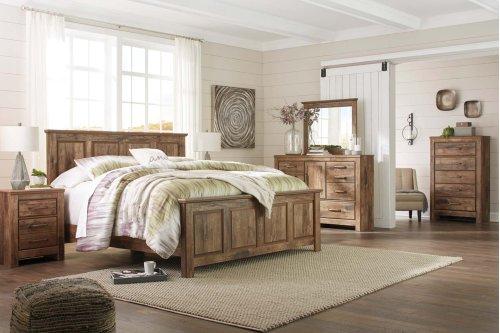 Blaneville - Brown 3 Piece Bed Set (King)