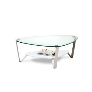 Bdi FurnitureSmall Coffee Table 1344 in Gloss White