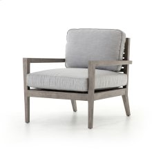 Laurent Outdoor Chair-weathered Gry Teak