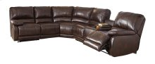 Hallettsville - Saddle 5 Piece Sectional