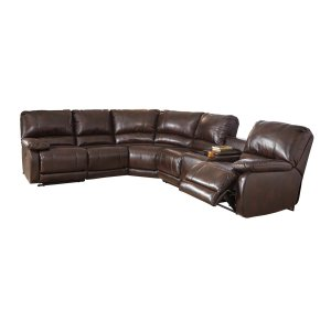 Ashley Furniture Hallettsville - Saddle 5 Piece Sectional
