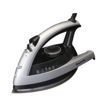 Concept 360° Quick Steam/Dry Iron with Curved Silver Titanium Coated Soleplate
