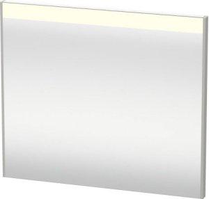 Mirror With Lighting, Concrete Gray Matt Decor Product Image