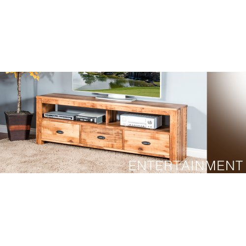"""54"""" TV Console w/ 2 Drawers"""