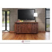 """70"""" TV Stand w/6 Drawer, 2 door w/2 shelves on each side Product Image"""