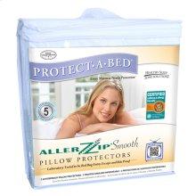 AllerZip Smooth Pillow Protector