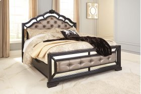 Quinshire - Dark Brown 3 Piece Bed Set (Cal King)