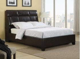 Dreamsrfr Upholstered FB w/rails 6/6 Blk