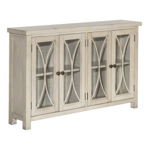 Hillsdale FurnitureBayside 4 Door Cabinet - Antique White