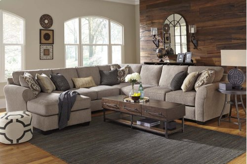 Pantomine - Driftwood 4 Piece Sectional