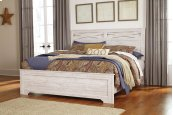 Briartown - Whitewash 3 Piece Bed Set (King)