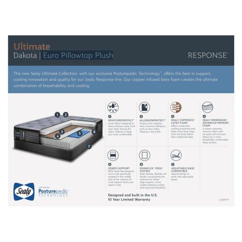 Response - Ultimate Collection - Rose Garden - Euro Pillowtop - Firm - Queen