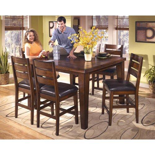 Larchmont Burnished Dark Brown Set Of 2 Dining Room Barstools
