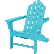 All-Weather Contoured Adirondack Chair - Aruba