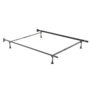 Leggett And PlattRestmore Adjustable Bed Frame 45G with Fixed Headboard Brackets and (4) Glide Legs, Twin - Full