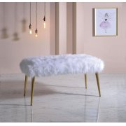 WHITE BENCH Product Image