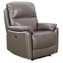 REC-349 Brazil Slate Leather Recliner