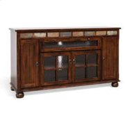 """Santa Fe 62"""" Counter Height TV Console Product Image"""