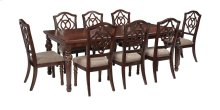 Leahlyn - Reddish Brown 9 Piece Dining Room Set