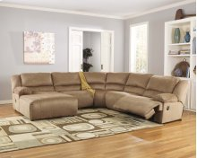 Hogan - Mocha 5 Piece Sectional