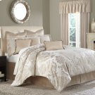 9pc Queen Comforter Set Creme Product Image