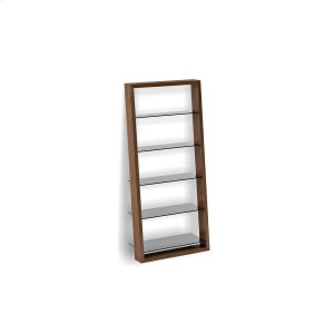 Bdi FurnitureLeaning Shelf 5156 in Natural Walnut