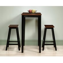 3-Piece Counter-Height Dinette Set
