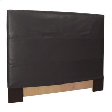 FQ Slipcovered Headboard Avanti Black