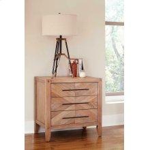 Auburn White-washed Nightstand
