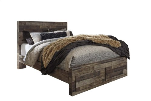 Derekson - Multi Gray 4 Piece Bed Set (Queen)