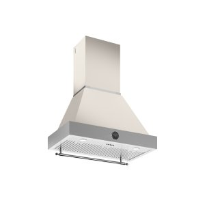 36 Wallmount Canopy and Base Hood, 1 motor 600 CFM Avorio - AVORIO
