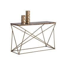 Galaxy Console Table - Brown