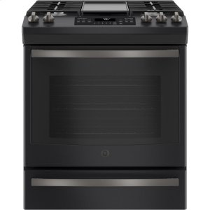 "GEGE® 30"" Slide-In Front-Control Convection Gas Range"