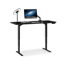 Lift Standing Desk 60 X 24 Top 6051 in Espresso