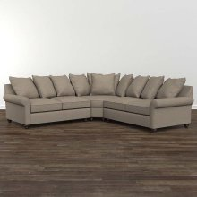 Designer Comfort Fairmont Small L-Shaped Sectional