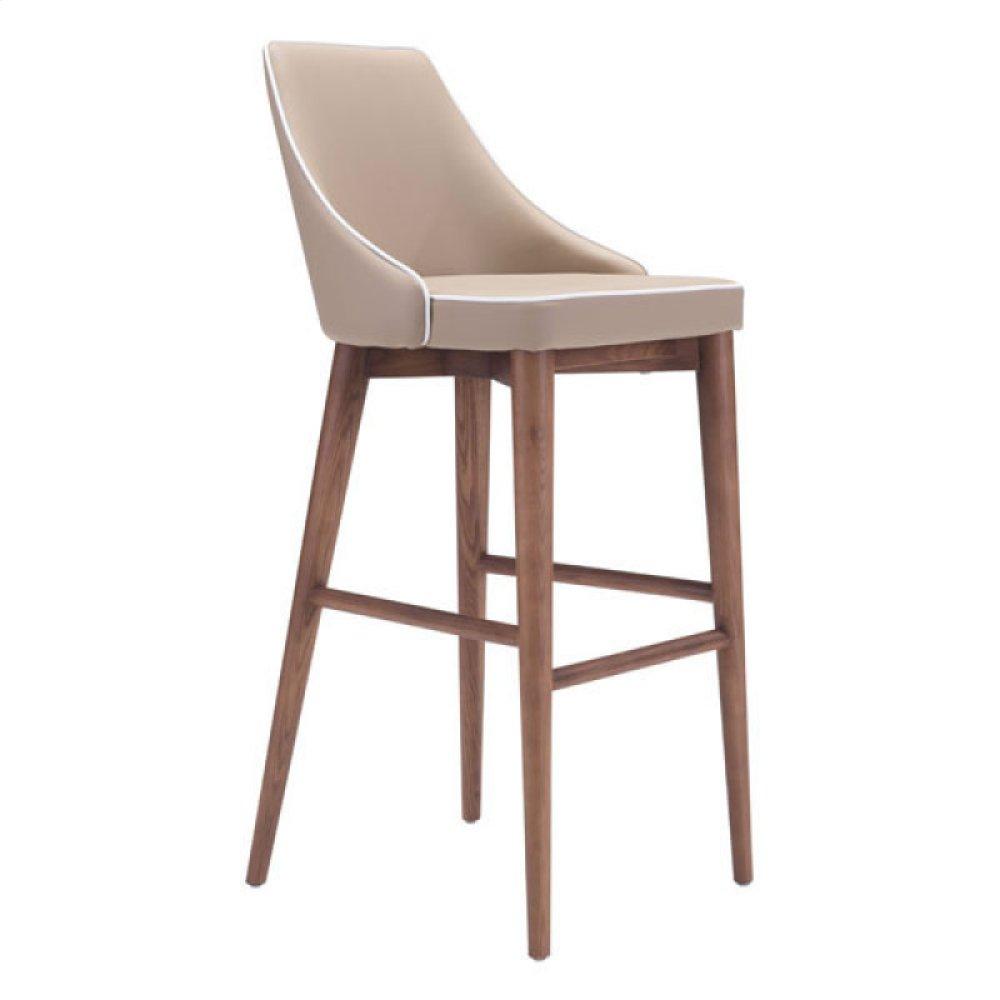 Moor Bar Chair Beige