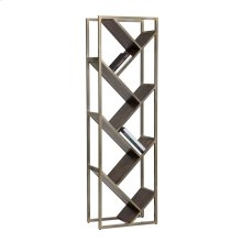 Voss Bookcase - Gold