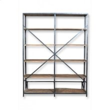 Industrial Library Double Shelving