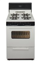24 in. Freestanding Gas Range in Biscuit Product Image