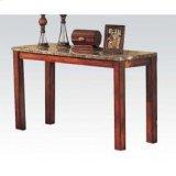 Marble Top Wood Leg Sofa Tbl Product Image
