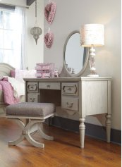 Abrielle - Gray 3 Piece Bedroom Set