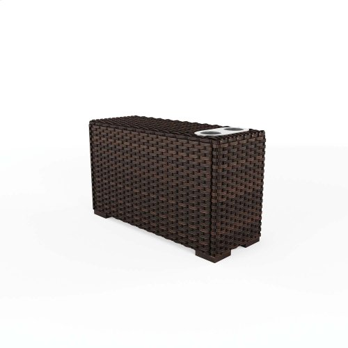 Console With Drink Holders
