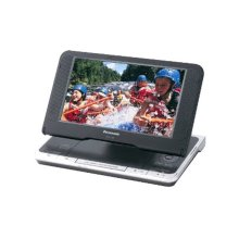 "8.5"" Diagonal Widescreen LCD Portable DVD Player with Car DC Adaptor"