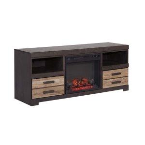 Ashley Furniture Harlinton - Two-Tone 2 Piece Entertainment Set