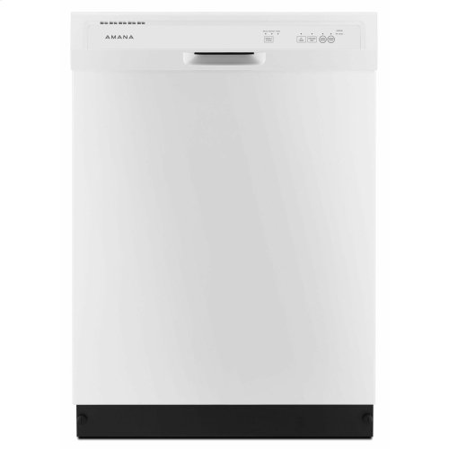 Dishwasher with Triple Filter Wash System - White