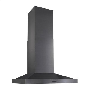 "Broan30"" 500 CFM Black Stainless Steel Chimney Range Hood"