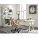 Jonileene - White/Gray 2 Piece Home Office Set Product Image
